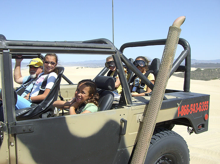 Experience the Pismo Dunes like no other with Xtreme Hummer Adventures - the